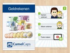 Geldrekenen voor iPad    Wat leert mijn kind van deze educatieve app:    Rekenen (met geld)    Doelgroep    8 jaar en ouder