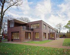 Lange and Esters Houses in Krefeld, Germany - Ludwig Mies van der Rohe