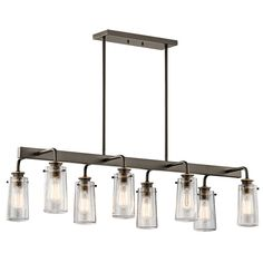 Fruita 8 Light Shaded Chandelier