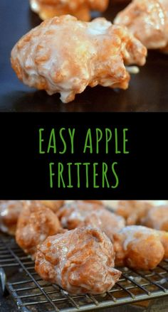 delicious fritters apple sweet easy hot Easy Apple Fritters Hot sweet deliciousYou can find Apple recipes and more on our website Apple Fritter Recipes, Easy Apple Fritters Recipe, Baked Apple Fritters, Apple Fritter Cake, Apple Fritters Recipe Pioneer Woman, Recipe Fritter, Cronuts Recipe Easy, Apple Turnover Recipe, Corn Fritters