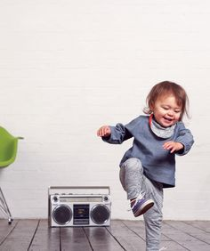 Little one dance to the music.