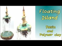 Floating Island- Polymer clay and resin tutorial - YouTube