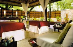 Spa. Banyan Tree Vabbinfaru, Maldives. © Banyan Tree Hotels & Resorts