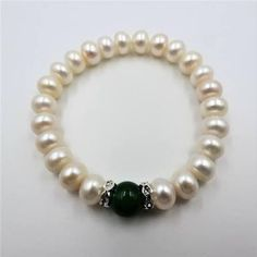 eb20f1286592 Resultado de imagen para pulseras de perlas de colores de cristal