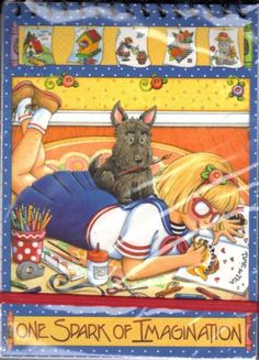 Mary Engelbreit Journal with Henry the Scottie Dog