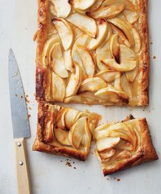 This rustic apple tart from Martha Stewart requires minimal prep for maximum flavor!