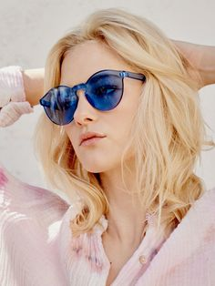Blue Spectrum Sunglass at Free People Clothing Boutique