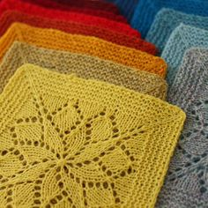 Vivid Knitted Blanket Kit - Tin Can Knits - Tangled Yarn UK Pattern only at http://www.tangled-yarn.co.uk/products/vivid