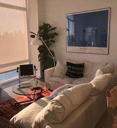 Home Decor For Small Spaces .Home Decor For Small Spaces Interior Design Minimalist, Room Interior Design, Living Room Designs, Living Spaces, Dog Spaces, Small Spaces, Aesthetic Rooms, Dream Apartment, Deco Design