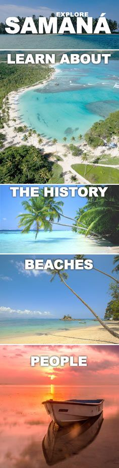 A growing collection of information about Samana: its history, beaches and people.