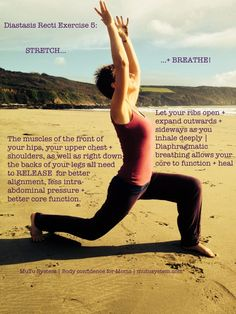 5 Exercises to Heal Diastasis
