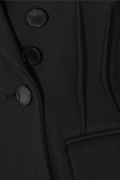 Joseph - Jacky Double-breasted Twill Blazer - Black - FR36