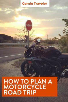Planning a Road Trip around Spain. Road Trip With A Motorcycle: How To Plan via @gamintraveler