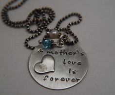 A Mothers Love is Forever Necklace