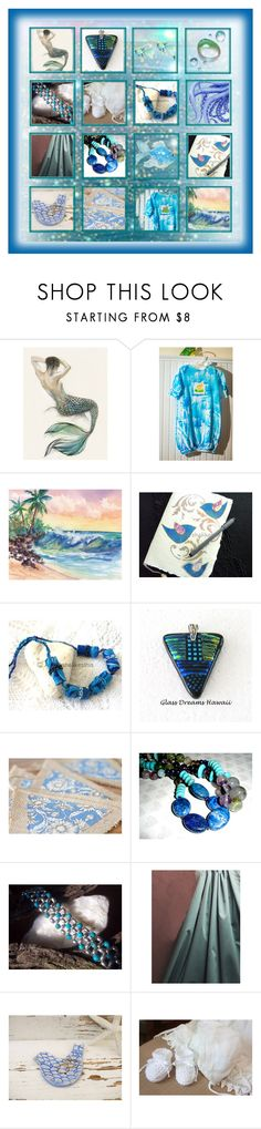 """At the Sea (Time to Shop Etsy Contest)"" by flower-of-paradise ❤ liked on Polyvore featuring Pocket Book"