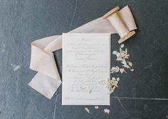 Wedding stationery for a fairy inspired wedding. Fine art wedding photography by Melissa Beattie.