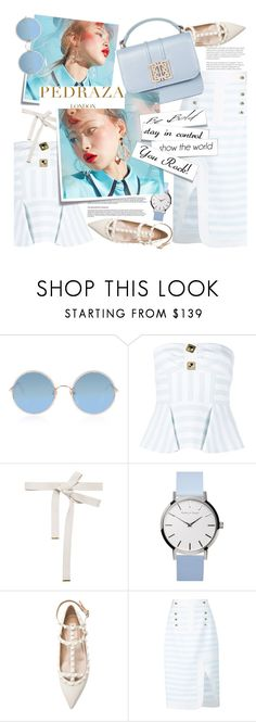 """No 485:PEDRADA LONDON"" by lovepastel ❤ liked on Polyvore featuring Post-It, Sunday Somewhere, Peter Pilotto, Marni, PedrazaLondon and Pedraza"
