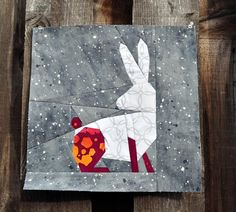 (7) Name: 'Quilting : Bunny FPP