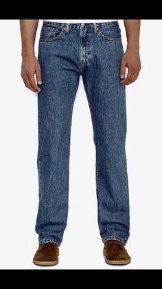 Levi's 505 Straight Leg Men's 100% Cotton Jeans Size 35 X 32 NWT #levis #ClassicStraightLeg