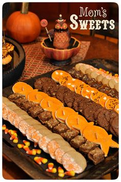 This would be a perfect kind of spread for a Harvest Moon Party!