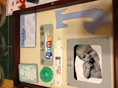 Shadow memory box for baby