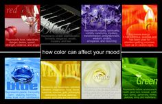 Can colors affect your mood
