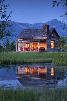 Serenity at a Small Cabin Near the Mountains – Cabin Living - Relaxing Summer Porches