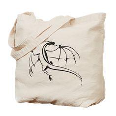 #Dragon 001 #Tote #Bag > Dragon 001 > #pASob-dESIGN http://www.cafepress.com/pasobdesign.916094413