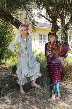 Gretchen and Suzi | ADVANCED STYLE | Bloglovin'