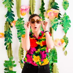 This Is the Photo Booth You'll Want at Every Summer Party via Brit + Co.