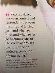 Yoga Quotes About Balance Yoga Surrender Quote
