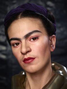 """Frida Kahlo """"Viva la vida"""" del hiperrealista Kazuhiro Tsuji."""