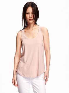 Relaxed Racerback Tank for Women Product Image