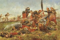 """Save the Colors"" The 5th NYVI, Duryee Zouaves at Second Manassas by Keith Rocco."