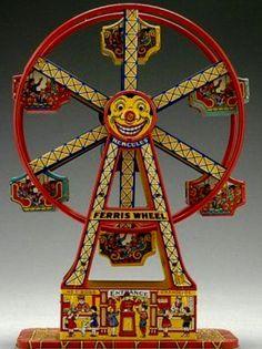 Chein Hercules Wind-Up Ferris Wheel