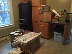 Moving in kitchen dump everything in there lol