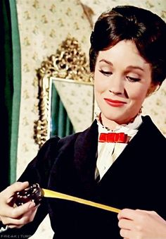 """""""Pratically perfect in everyway."""" - Mary Poppins -- And this is why Mary is NOT on my Dream Dolls board... I could never be comfortable around her!"""