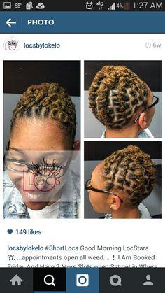 Dreadlock Styles, Dreads Styles, Updo Styles, Short Dreadlocks Hairstyles, Natural Hairstyles, Loc Updo, Dreads Girl, Natural Hair Art, Natural Hair Styles For Black Women