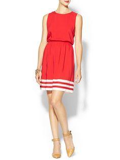 Piperlime | Border Stripe Dress