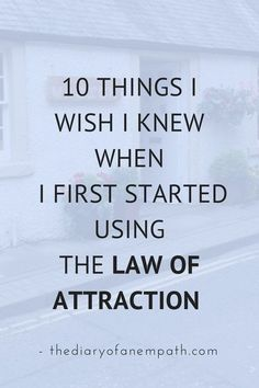 how-to-law-of-attraction