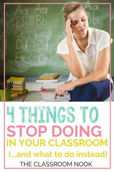 4 Things to STOP Doing In Your Classroom (and what to do instead) Check out these best teaching practices for century classrooms. Great tips for any elementary classroom First Year Teachers, New Teachers, Elementary Teacher, Upper Elementary, Primary Teaching, Teaching English, Teaching Strategies, Teaching Resources, Instructional Strategies