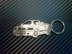 Opel Astra Cabrio Personalized Key Chain by GuestFromThePast