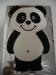 Resultado de imagem para bolo panda passo a passo