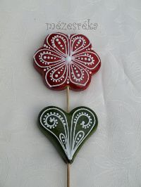 Mézeskalács virágok - MezesReka.com