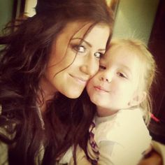 Chelsea from Teen Mom 2 and baby Aubree!