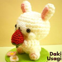 conejito amigurumi pagina japonesa