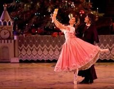 """Luz San Miguel stars as Marie and Ryan Martin as Karl in one of the Milwaukee Ballet's casts for the Michael Pink production of """"The Nutcracker."""" The show opened Saturday afternoon and runs through Dec. 26 at the Marcus Center."""