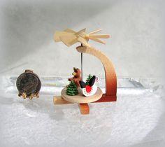 Dollhouse Miniature German Christmas Toy Pyramid from Silvia Leiner | eBay