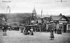 Rothesay Pier in 1906.