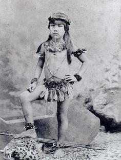 Curumim do Mato Grosso, em 1882. Foto de Marc Ferrez.
